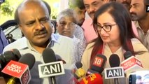 Sumalatha Amabareesh Slams HD Kumaraswamy On His Foreign Tour Comment | Oneindia Kannada