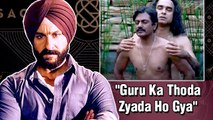 Saif Ali Khan NOT HAPPY With Sacred Games 2?
