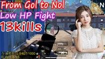 刺激战场:G港大姐搬家来N港,残血钢枪只有10个绷带,最后还能6杀出N港吃鸡666【柔柔】和平精英PUBG Mobile