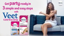 VEET Cold Wax Strips   How to Use Veet Cold Wax Strip Step by Step ,  Waxing at Home Hacks ,  Boldsky