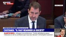 """Cet individu n'était connu """"pour aucun signe de radicalisation"""" affirme Christophe Castaner au Sénat, qui reconnaît des """"failles"""" et non des """"fautes"""""""