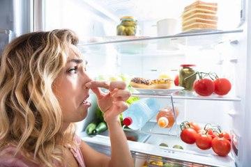 Wie entfernt man Gerüche aus dem Kühlschrank?