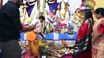 Tanushree Dutta, Ishita Ganguly & Deepshika At Playing Sindur Holi At Maitree Clutural Sarbojanin Durgatsav Malad