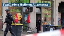 Deux morts dans une fusillade à Halle en Allemagne