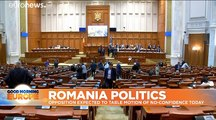 Romania's government on the brink ahead of vote of no confidence in Viorica Dancila