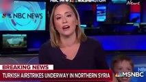 Barış Pınarı Harekatı'nın haberini sunan Amerikalı spikerin zor anları!