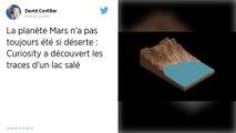 Mars: quand la planète rouge était une planète bleue