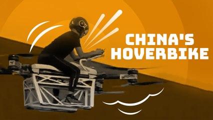 China's hoverbike