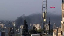 Mardin barış pınarı harekatı kapsamında nusaybin'in karşısındaki kamışlı'da terörist hedefler...