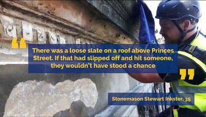 Nearly 180 reports of falling masonry from Edinburgh's crumbling tenements in past year