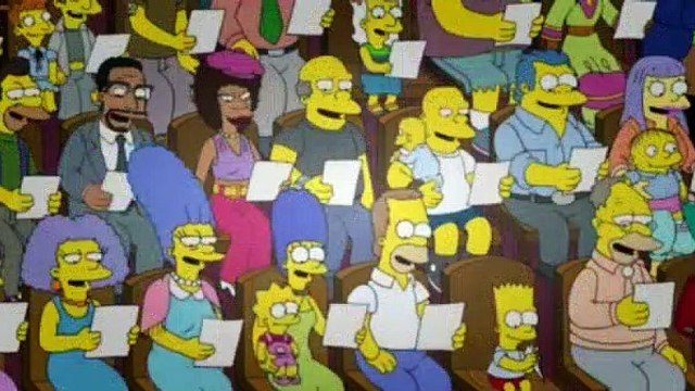 The Simpsons Season 26 Episode 13 Walking Big and Tall