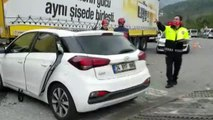 Sapanca'da 3 araç çarpıştı: 5 yaralı