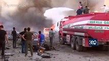 Resistencia kurda y éxodo de civiles en el norte de Siria