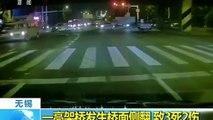 Chine : trois morts dans l'impressionnant effondrement d'un pont