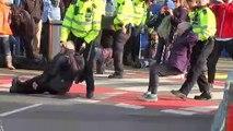 Extinction Rebellion attempt to shut London City Airport