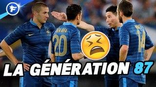 Génération 87, la génération gâchée du football français