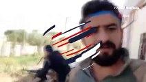 """Suriye Milli Ordusu Tel Abyad'da: """"Sizi korumaya geldik"""""""
