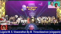 Legend M. S. Viswanathan By M. Thiravidaselvan (singapore) Vol 230
