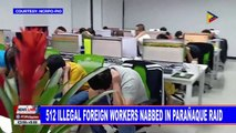 512 illegal foreign workers nabbed in Parañaque raid