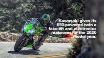 2020 Kawasaki Ninja 650 First Look Preview