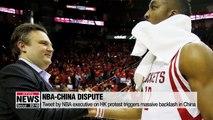 Chinese NBA sponsors cut ties over Hong Kong pro-democracy protests
