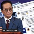 Do it every day! Netizens react to Panelo's planned commute