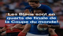 Coupe du monde de rugby: Les Bleus sont en quarts!