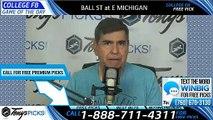 Ball St Eastern Michigan College Football Pick 10/12/2019