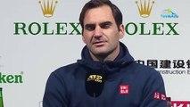 """ATP - Shanghai 2019 - Roger Federer heckled by David Goffin : """"Everything is fine ... """""""