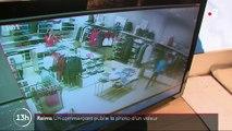 Reims : un commerçant affiche le visage d'un homme soupçonné de l'avoir volé