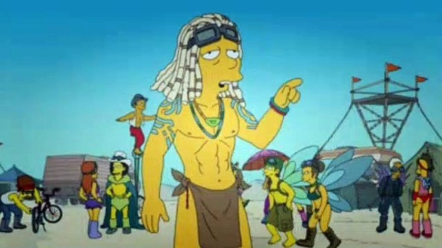 The Simpsons Season 26 Episode 7 Blazed and Confused