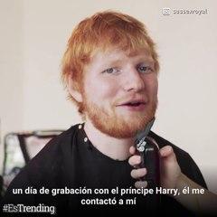 El poderoso motivo que unió al príncipe Harry y Ed Sheeran