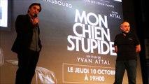 Yvan Attal est venu présenter son nouveau film à Cavaillon