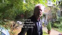 """Peter Handke """"astonished"""" and """"moved"""" by Nobel literature prize"""
