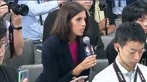 La censure d'une question sur la Chine en conférence de presse