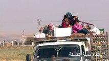 قوات سوريا الديموقراطية تتصدى للجهوم التركي وسط موجة نزوح كبيرة
