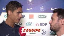 Varane «On se prépare à un match difficile» - Foot - Qualif. Euro - Bleus