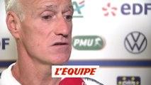 Deschamps «Giroud est un joueur important» - Foot - Bleus