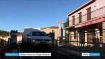 Inondations dans l'Aude : un an après, Villegailhenc tente de se reconstruire