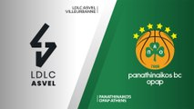LDLC ASVEL Villeurbanne - Panathinaikos OPAP Athens Highlights | EuroLeague, RS Round 2