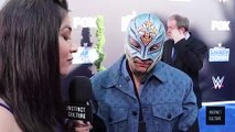 Part 20 Rey Mysterio Interview, WWE Smackdown 20th Anniversary Blue Carpet, 4 Oct, 2019