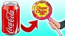 DIY - ГИГАНТСКИЙ Чупа-Чупс из КОКА-КОЛЫ Coca Cola  . Как сделать его дома
