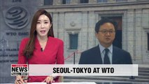 S. Korea, Japan to hold talks at WTO on Friday over Tokyo's export restrictions