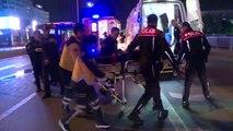 Başkentte otomobil servis aracıyla çarpıştı: 2 yaralı