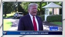 Trump Pushes Rudy Giuliani Under A Bus