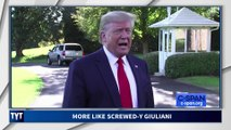 Trump Pushes Rudy Giuliani Under A Bus