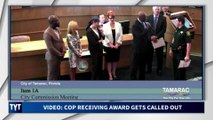 Cop Thought He Was Getting An Award, He Got A Reality Check Instead