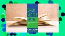 Full E-book  Open Middle Math: Problems That Unlock Student Thinking, 6-12 Complete