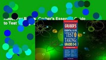 About For Books  Gruber's Essential Guide to Test Taking: Grades 3-5  Review
