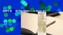 [GIFT IDEAS] The Giver (The Giver, #1)